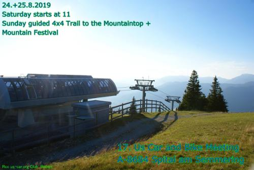 Stuhleck, Mountain, Skiing Area, Summer, Mountain Festival, with Music 23.+25.8.